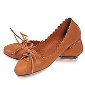 Обувь ручной работы. Ярмарка Мастеров - ручная работа +++Endless love. Балетки женские кожаные, для офиса, прогулок и дома. Handmade.