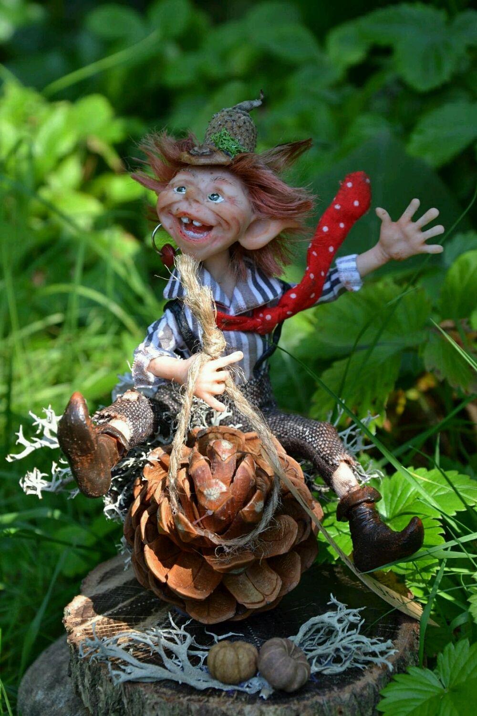 Куклы эльфы своими руками из глины фото 427