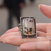 Украшения ручной работы. Ярмарка Мастеров - ручная работа Кольцо, серебро, моховой агат. Handmade.