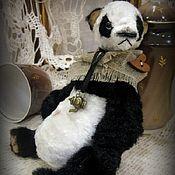 Куклы и игрушки ручной работы. Ярмарка Мастеров - ручная работа Panda... мишка-тедди.... Handmade.