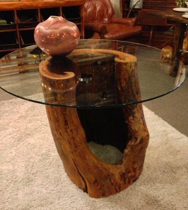 Приставной или журнальный столик пень, ствол дерева, Столы, Казань, Фото №1