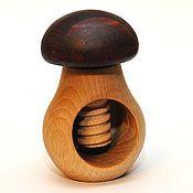 Куклы и игрушки handmade. Livemaster - original item Mushroom with screw. Handmade.