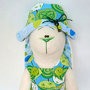 Куклы и игрушки ручной работы. Ярмарка Мастеров - ручная работа Заяц Виолетта (45 см.). Handmade.