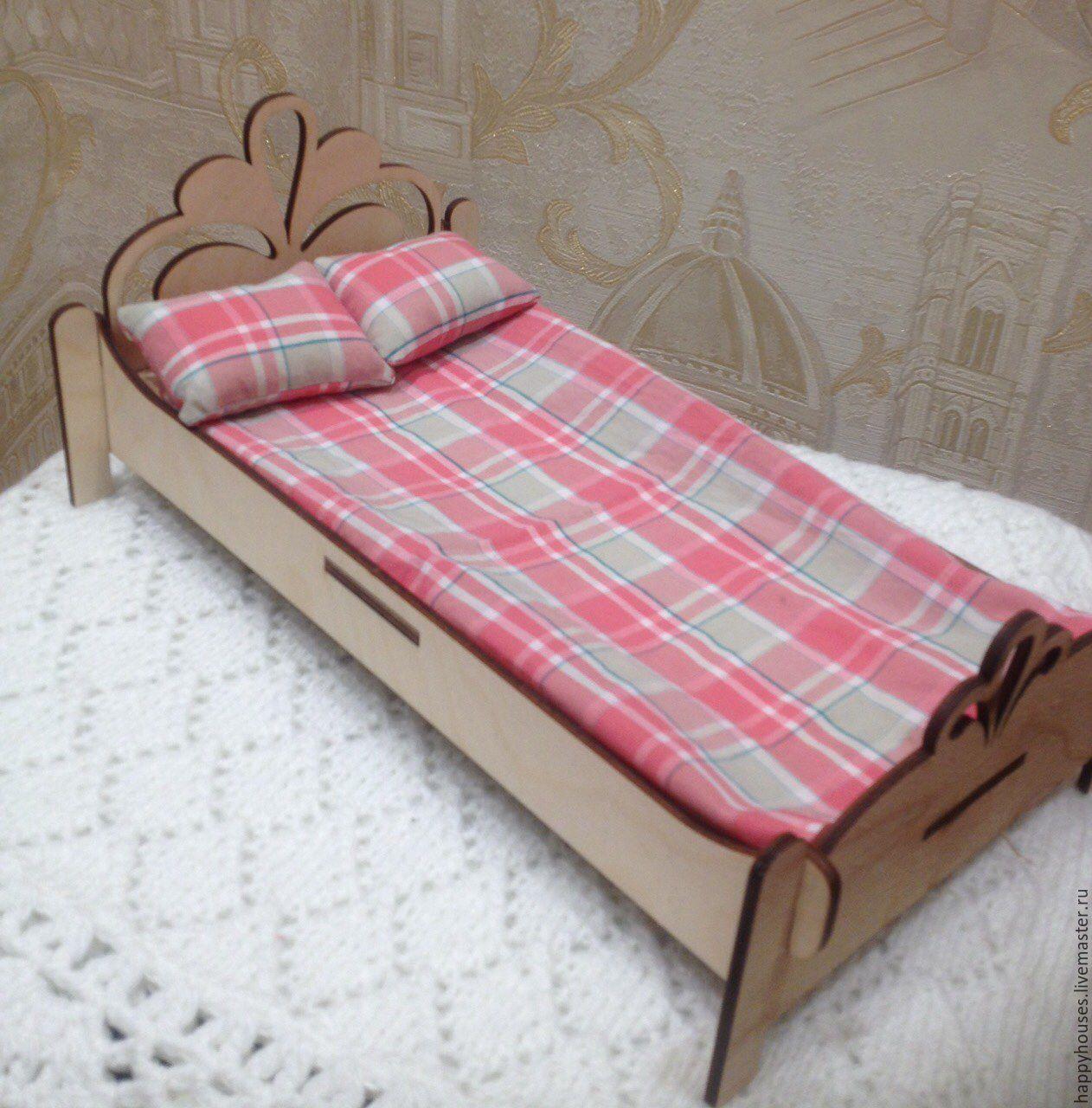кровать для барби своими руками фото накладывалось