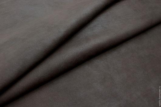 """Шитье ручной работы. Ярмарка Мастеров - ручная работа. Купить Натуральная кожа КРС """"Мarrone scuro"""". Handmade. Кожа, для сумок"""