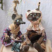 Куклы и игрушки handmade. Livemaster - original item Sherochka with masherochkoy(album corporate) price for a pair. Handmade.