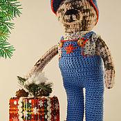 Куклы и игрушки ручной работы. Ярмарка Мастеров - ручная работа Мягкая игрушка Мишка Ханни. Handmade.