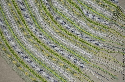 Текстиль, ковры ручной работы. Ярмарка Мастеров - ручная работа. Купить Плед вязаный. Handmade. Плед, плед зеленый, для спальни