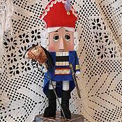 """Куклы и игрушки ручной работы. Ярмарка Мастеров - ручная работа Авторская Кукла """"Отважный Щелкунчик"""". Handmade."""