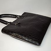 Сумки и аксессуары handmade. Livemaster - original item Leather bag. Bag folder. Handmade.