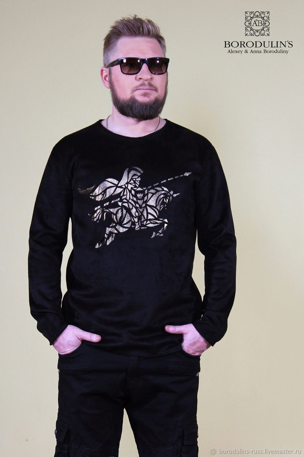 Space knight sweatshirt», Mens jumpers, Moscow,  Фото №1