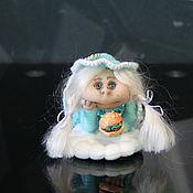Куклы и игрушки ручной работы. Ярмарка Мастеров - ручная работа Интерьерная кукла-попик ручной работы Манюня.. Handmade.