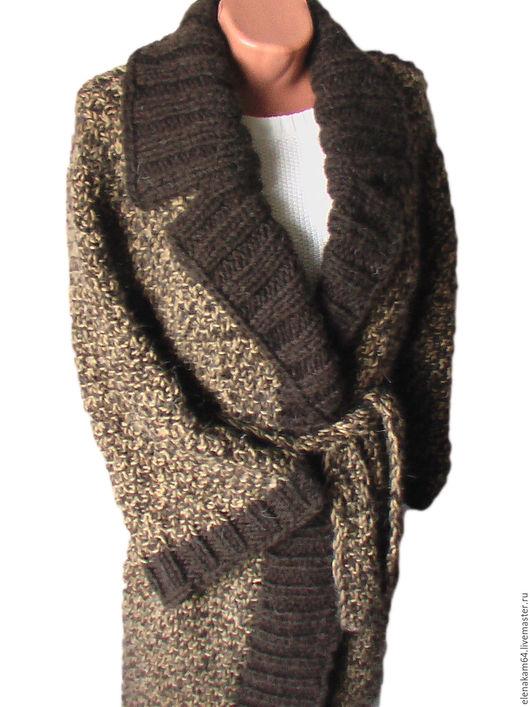 Верхняя одежда ручной работы. Ярмарка Мастеров - ручная работа. Купить вязаное пальто. Handmade. Вязаное пальто, кардиган вязаный