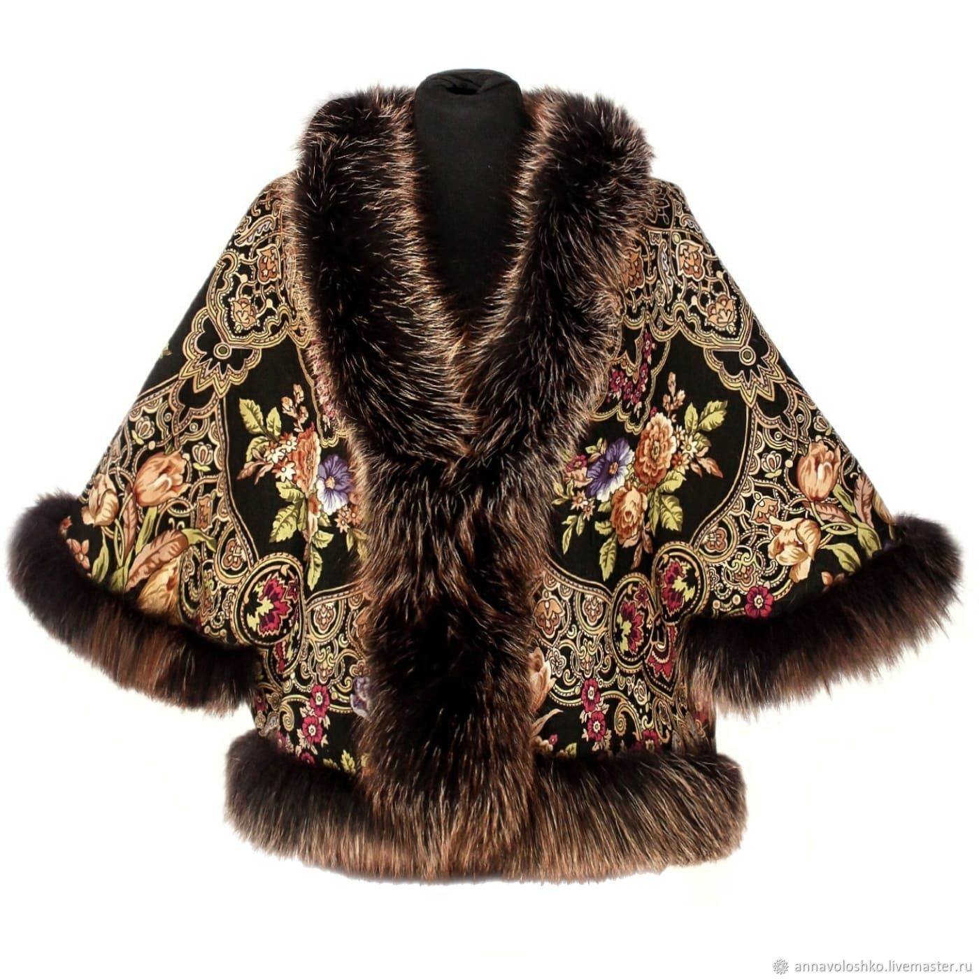 Jacket with Fox fur, Outerwear Jackets, Moscow,  Фото №1