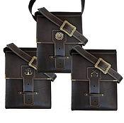 Мужская сумка ручной работы. Ярмарка Мастеров - ручная работа Сумка мужская кожаная. Handmade.