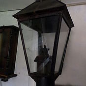 Старинный фонарь столбовой раритет 19 век.