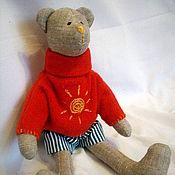 Куклы и игрушки ручной работы. Ярмарка Мастеров - ручная работа Тильда медвежонок для ребенка. Handmade.