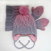 Работы для детей, handmade. Livemaster - original item Children`s knitted set