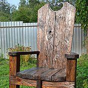 Для дома и интерьера ручной работы. Ярмарка Мастеров - ручная работа кресло-трон из сосны. Handmade.