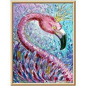 Картины ручной работы. Ярмарка Мастеров - ручная работа Картины: Сказочная птица. Handmade.
