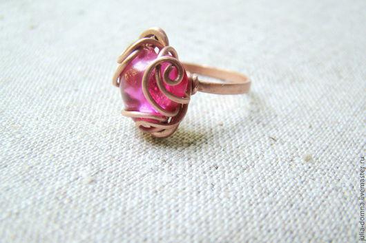 Кольца ручной работы. Ярмарка Мастеров - ручная работа. Купить кольцо с рубином ,,Сердечко моё,, - подарок на святого валентина. Handmade.