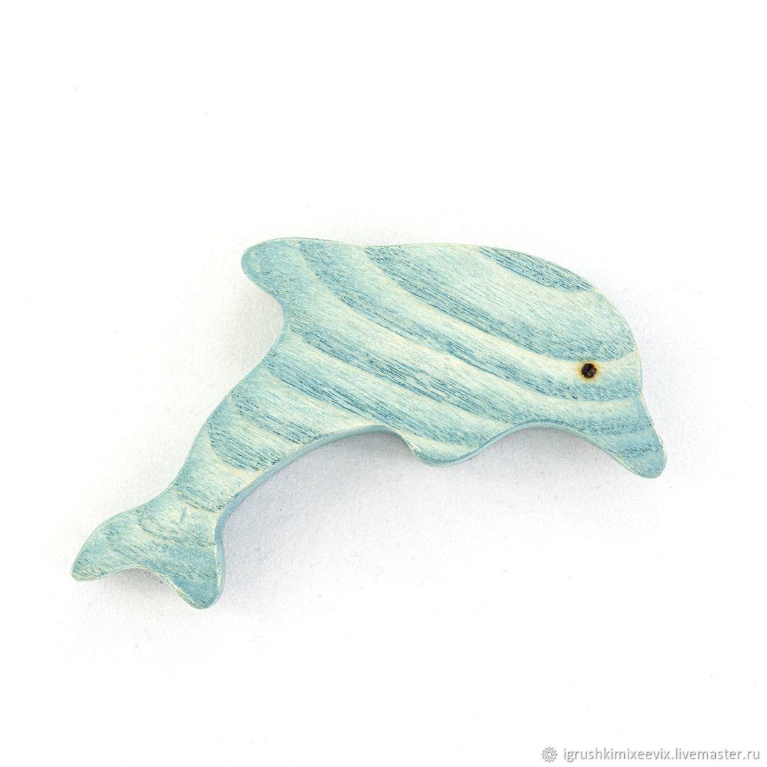 Дельфин, Вальдорфские куклы и звери, Смоленск,  Фото №1