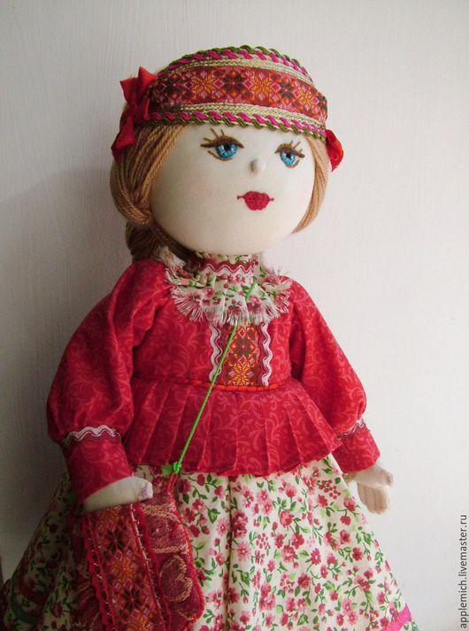 Авторская текстильная кукла Таня