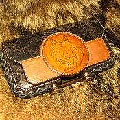Сумки и аксессуары handmade. Livemaster - original item Holster for phone RugGear RG150 Traveller. Handmade.