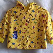 Одежда ручной работы. Ярмарка Мастеров - ручная работа Куртка - дождевик для девочки и мальчика. Handmade.