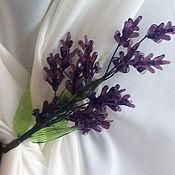 Дизайн и реклама handmade. Livemaster - original item Tiebacks Lavender. Handmade.
