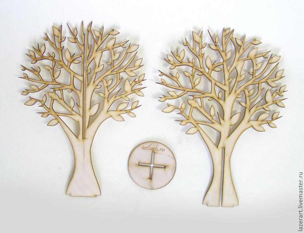 Как сделать объемное дерево и из чего