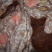 """Аксессуары ручной работы. Ярмарка Мастеров - ручная работа Палантин """"Соловей и Кошка"""". Handmade."""