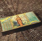 Для дома и интерьера ручной работы. Ярмарка Мастеров - ручная работа Шкатулка для денег ЛАКШМИ купюрница. Handmade.