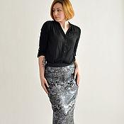 Одежда handmade. Livemaster - original item Skirt shiny sequin. Handmade.