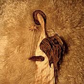 Для дома и интерьера ручной работы. Ярмарка Мастеров - ручная работа Ангел весенний, несущий цветок. Handmade.
