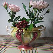 Цветы и флористика ручной работы. Ярмарка Мастеров - ручная работа Новые старинные розы..... Handmade.