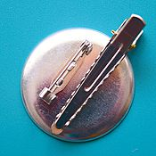 Материалы для творчества handmade. Livemaster - original item Foundation 2 in 1 brooch or hairpin. Handmade.