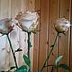 Искусственные растения ручной работы. роза из полимерной глины. Olga Tsvetkova. Интернет-магазин Ярмарка Мастеров. Роза, масляные краски