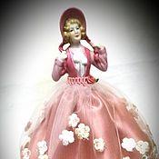 Статуэтки ручной работы. Ярмарка Мастеров - ручная работа Кукла - игольница. Handmade.