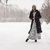 """Одежда ручной работы. Ярмарка Мастеров - ручная работа Красивое платье из трикотажа""""Черно-Белое"""". Handmade."""