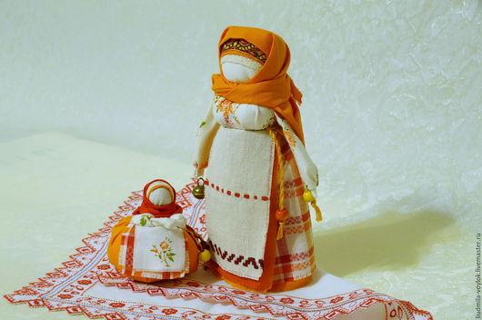Народные куклы ручной работы. Ярмарка Мастеров - ручная работа. Купить Обережные куколки Марьюшка и Хозяюшка( Отложено). Handmade. Комбинированный