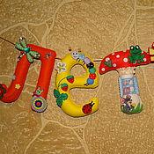 Для дома и интерьера ручной работы. Ярмарка Мастеров - ручная работа Интерьерная гирлянда Лето. Handmade.