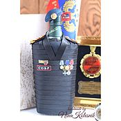 Сувениры и подарки handmade. Livemaster - original item Souvenirs by profession: Gift to an officer employee of the SOBR. Handmade.