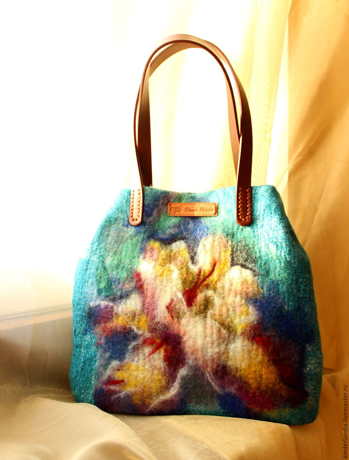 bag felt the approach of spring, Classic Bag, St. Petersburg,  Фото №1