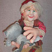 Куклы и игрушки ручной работы. Ярмарка Мастеров - ручная работа Добрая Яга. Handmade.
