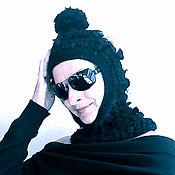 Шапки ручной работы. Ярмарка Мастеров - ручная работа Арт-шапка-шлем. Handmade.