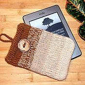 Чехол ручной работы. Ярмарка Мастеров - ручная работа Вязаный чехол для электронной книги, iPad, планшета. Handmade.