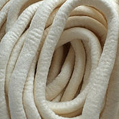 Материалы для творчества ручной работы. Ярмарка Мастеров - ручная работа Мериносовые жгуты белый. Handmade.