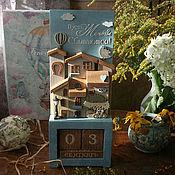 Для дома и интерьера handmade. Livemaster - original item Eternal calendar Let your dreams come true. Handmade.