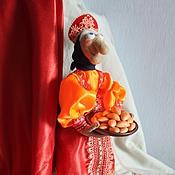 Куклы и игрушки ручной работы. Ярмарка Мастеров - ручная работа Баба Яга, кукла сувенирная.. Handmade.